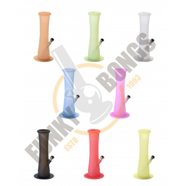 Silicone Bong Straight Style 21.5cm